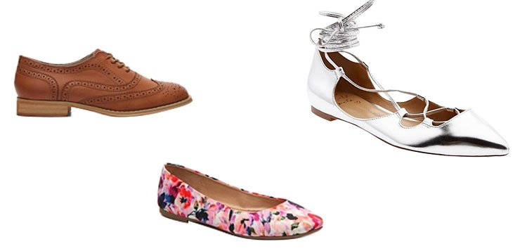 Put some spring in your step with warm weather footwear