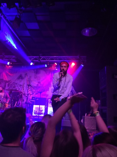 MewithoutYou front man Aaron Weiss at Concord Music Hall, Friday, May 6.