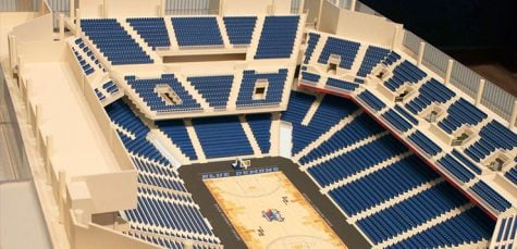 "Student section will be elevated to ""Demon Deck"" at the new arena"