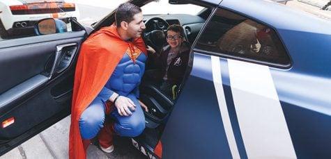 Photos: DePaul grads brighten sick children's days as superheroes