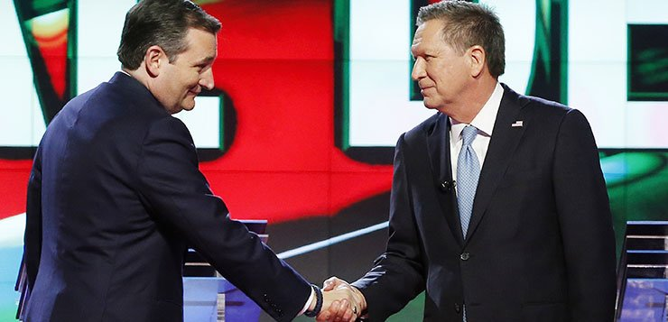 Cruz, Kasich team up to stop Trump from getting Republican nomination