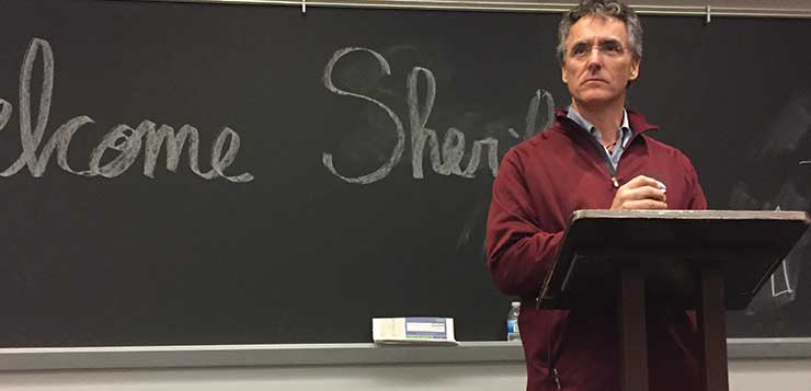 Sheriff Dart speaks on mental health and criminal justice reform at DePaul