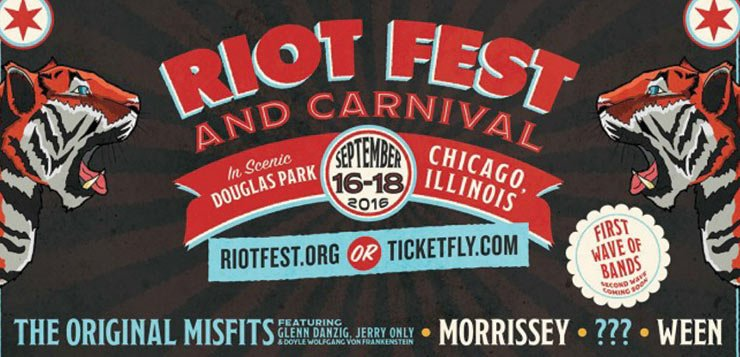 Misfits, Morrissey, Ween, Death Cab headline Riot Fest