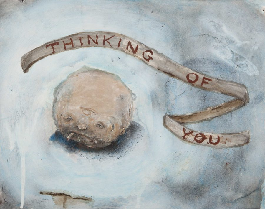 %22Thinking+of+You%22+by+Brian+Calvin+is+a+work+of+pen%2C+ink%2C+acrylic+and+watercolor+on+paper+from+1994.+This+is+one+of+the+114+works+of+art+donated+by+Chuck+Thurow+to+the+DePaul+Art+Museum%27s+permanent+collection.+%28Photo+Courtesy+of+DePaul+Art+Museum%29+