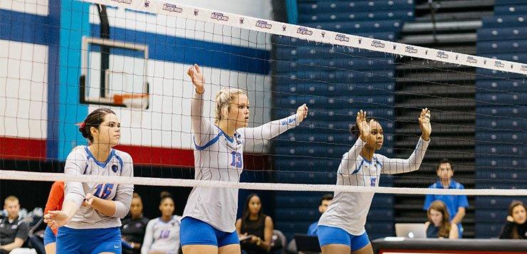 Women's volleyball looks forward to a tough season