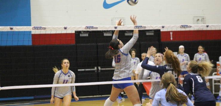 Volleyball stands strong against Villanova