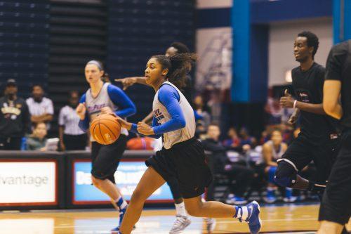 The women's basketball team returns three starters from their 2016 Big East regular season and NCAA Sweet Sixteen run. (Josh Leff/The DePaulia)