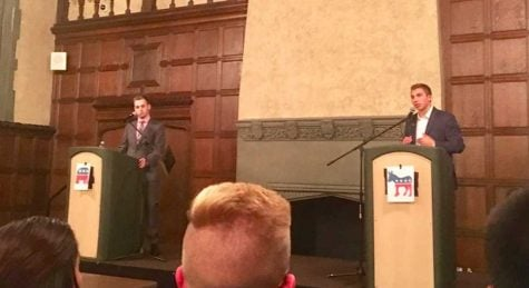 College Dems, GOP debate at DePaul
