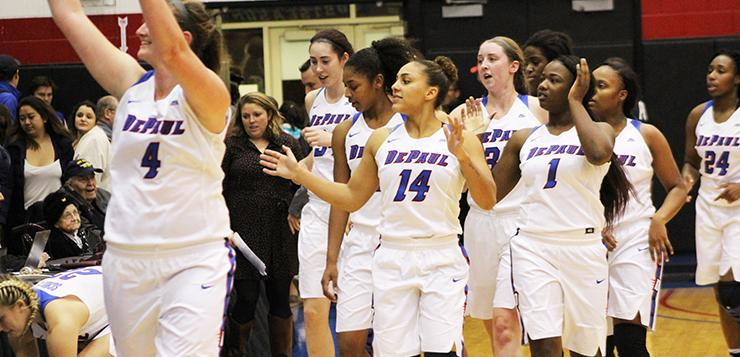 DePaul routs Appalachian State 99-58 in their first game of the season.