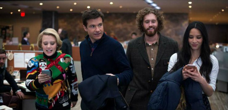 'Office Christmas Party' creatives discuss comedy in time of need