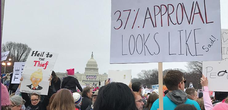 American carnage vs. hope and change in Washington, D.C. last week