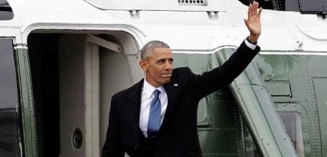 Former President Obama returns to Chicago