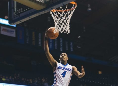 DePaul won their second conference game of the season with a 67-65 win over Georgetown   Josh Leff / The DePaulia)