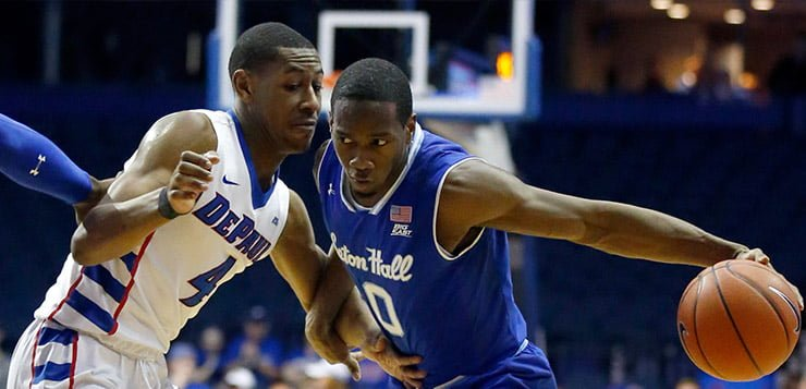 Men's basketball falls short against Seton Hall