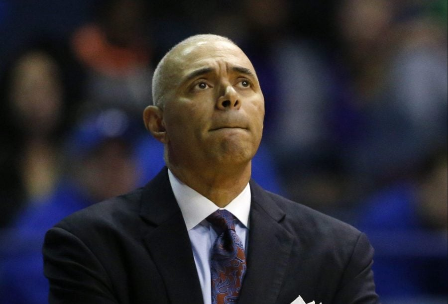 DePaul+head+coach+Dave+Leitao+enters+his+fourth+season+in+his+second+stint+with+the+program+looking+to+provide+DePaul%27s+first+winning+season+since+the+2006-07+season.+%28AP+Photo%2FNam+Y.+Huh%29