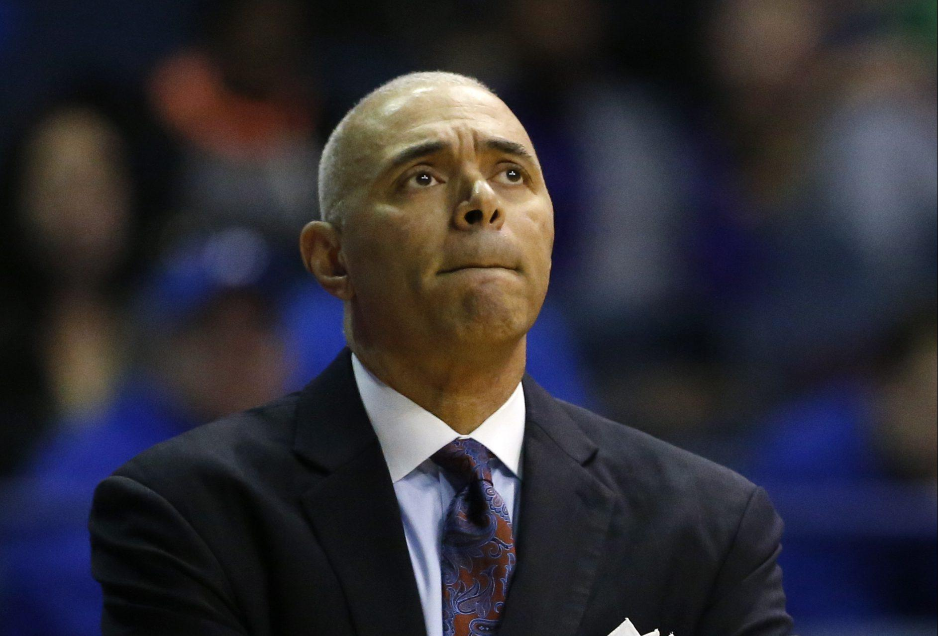 DePaul head coach Dave Leitao enters his fourth season in his second stint with the program looking to provide DePaul's first winning season since the 2006-07 season. (AP Photo/Nam Y. Huh)