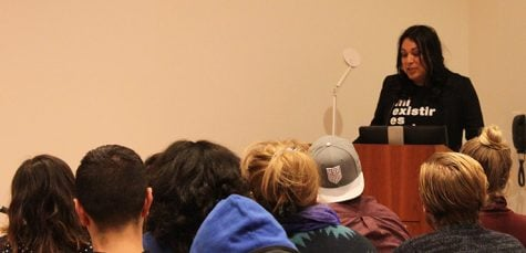 Guest speaker promotes activism through art