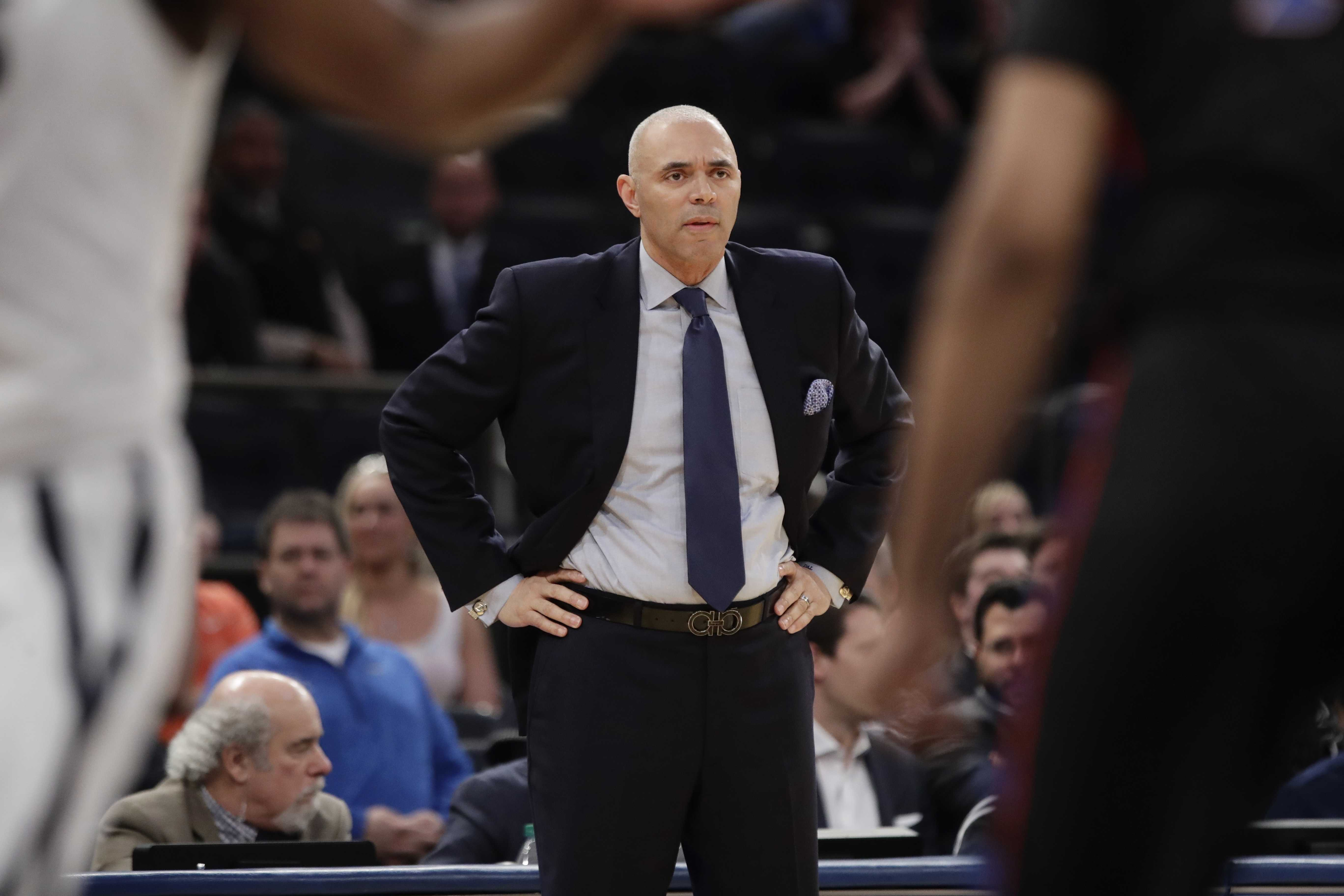 DePaul head coach Dave Leitao. (AP Photo/Frank Franklin II)