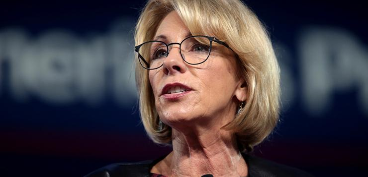 DeVos discontinues Obama-era student loan protections