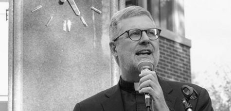 Rev. Dennis Holtschneider's last interview as president of DePaul