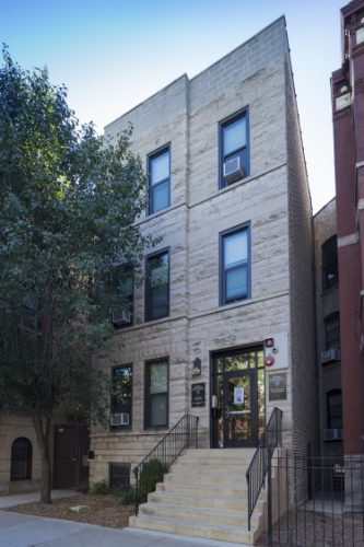 After 25 years, the Vincent and Louise House at 2308 N. Sheffield Ave. will be closed to meet increasing demand for student housing. (Photo courtesy of DEPAUL UNIVERSITY)