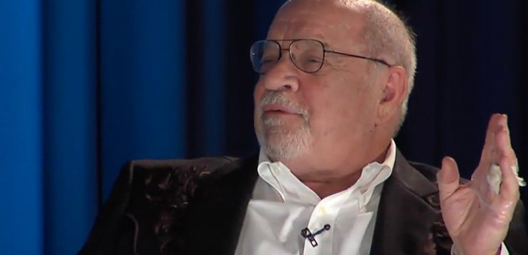 """Writer of """"Taxi Driver"""" Paul Schrader speaks as part of this year's Visiting Artist Series at DePaul. (Photo courtesy of DEPAUL'S SCHOOL OF CINEMATIC ARTS)"""