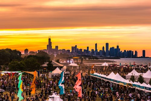 Mamby on the Beach, Chicago's first and only beachside music festival, celebrated its second year in 2016. (Photo courtesy of Michele D'Amaro / React Presents)