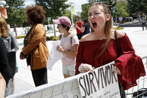 Secretary Betsy DeVos spoke about proposed changes to Title IX, Thursday, Sept. 7, 2017. at George Mason University Arlington, Va., campus.  (Jacquelyn Martin/AP)