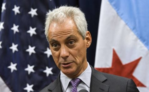 "Mayor Rahm Emanuel has previously proclaimed Chicago a ""sanctuary city"" and has refused to allow immigration agencies into city jails without a warrant. (AP Photo, Matt Marton)"