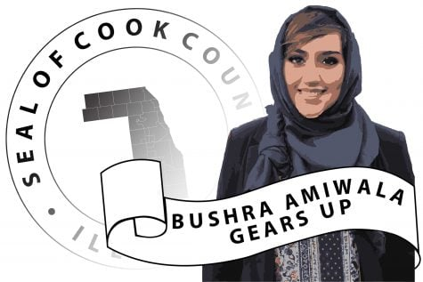 Bushra Amiwala gears up, student looks to add politics to her extracurriculars