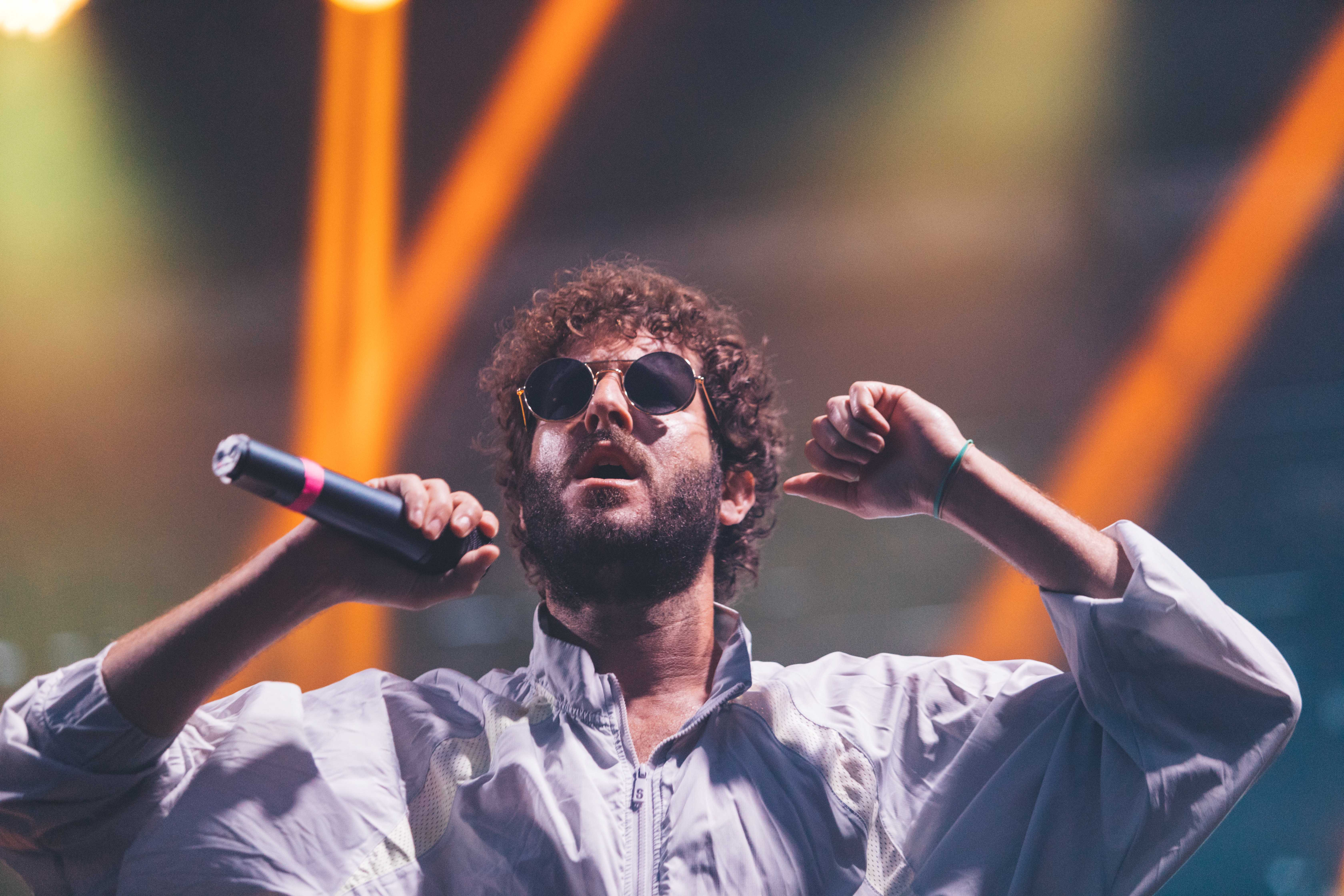 Lil+Dicky+performed+Friday.+%28Josh+Leff%2C+The+DePaulia%29