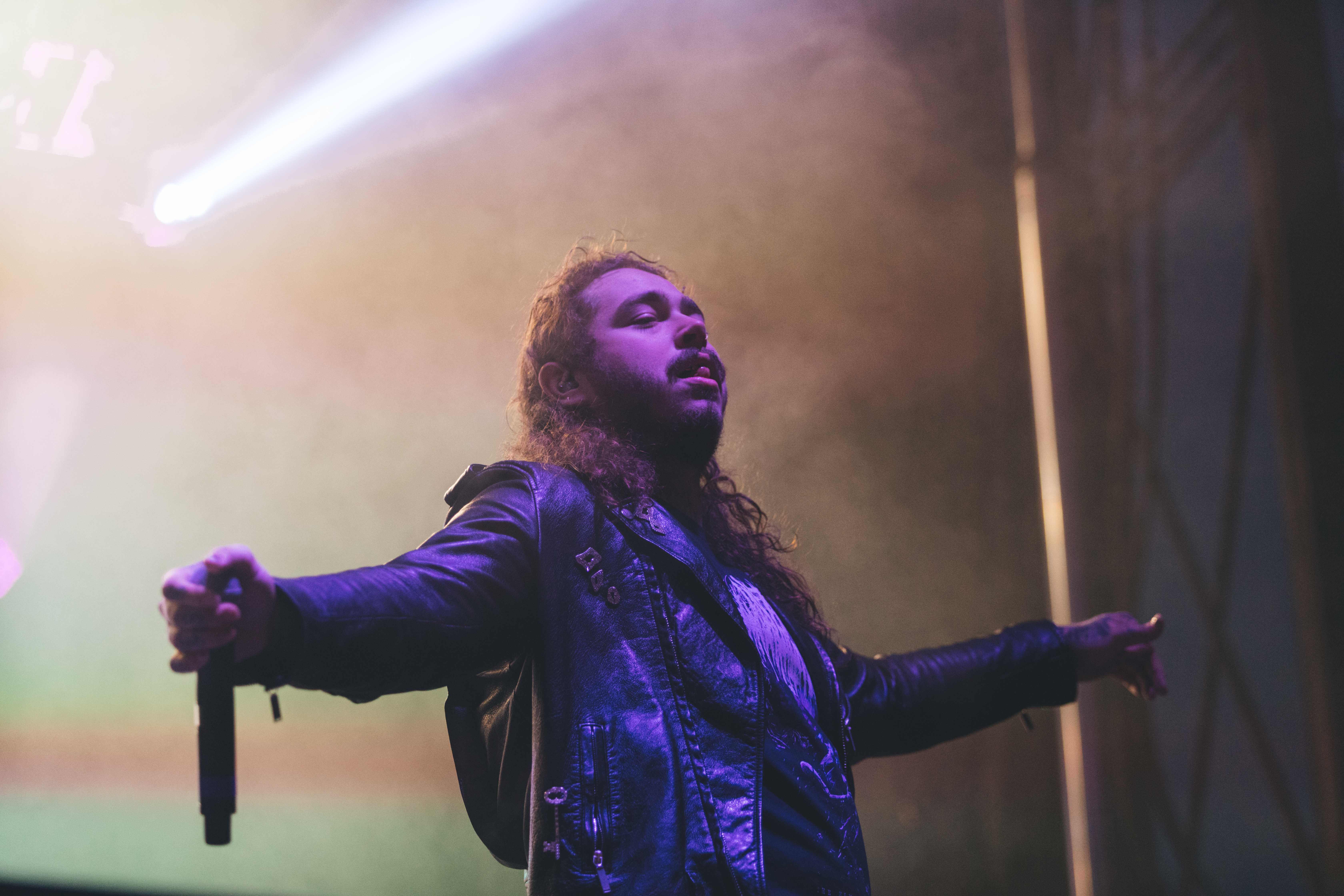 Post+Malone+performed+on+a+day+two+of+North+Coast.+%28Josh+Leff%2C+The+DePaulia%29