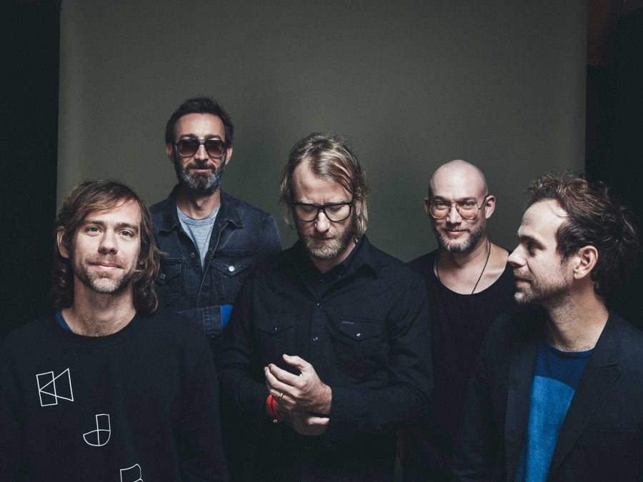 "The National released ""Sleep Well Beast"" on Sept. 8. From left to right: Aaron Dessner, Bryan Davendorf, Matt Berninger, Scott Devendorf, and Bryce Dessner.  (Photo courtesy to The National's Facebook)"