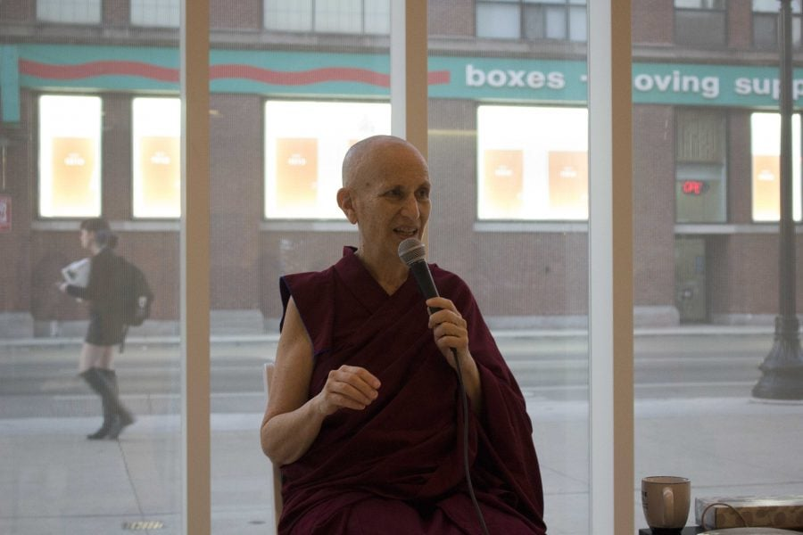 Tumultuous times? Try Tibetan thought-control
