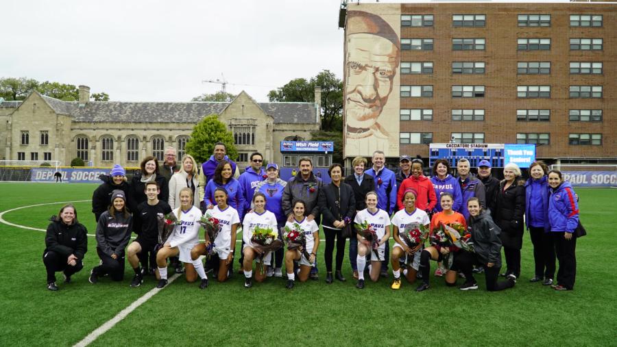 Women's soccer draws with Butler on senior day