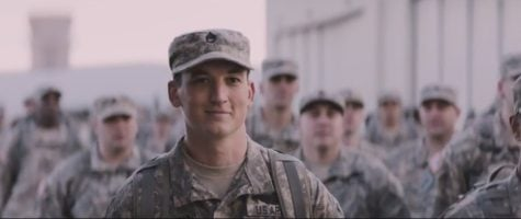 "Directed by Jason Hall, ""Thank You for Your Service"" stars Miles Teller as Adam Schumann, a returning war veteran struggling to adapt to civilian life with PTSD."