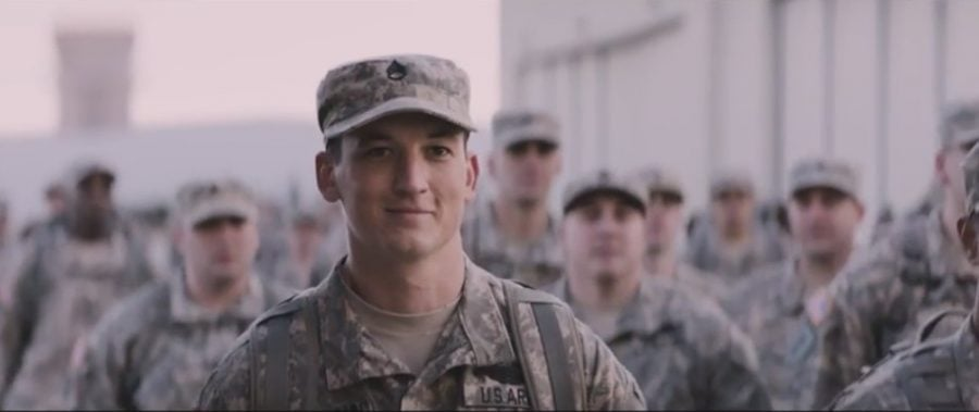 """Directed by Jason Hall, """"Thank You for Your Service"""" stars Miles Teller as Adam Schumann, a returning war veteran struggling to adapt to civilian life with PTSD."""