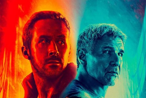 "Ryan Gosling (left) and Harrison Ford (right) in Denis Villeneuve's ""Blade Runner 2049"" that opened in theaters on Oct. 6 to $32 million. The original was released in 1982."