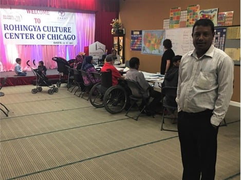 A Rohingya's journey to Chicago