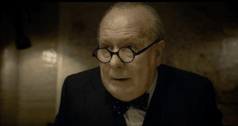 Gary Oldman as Winston Churchill in