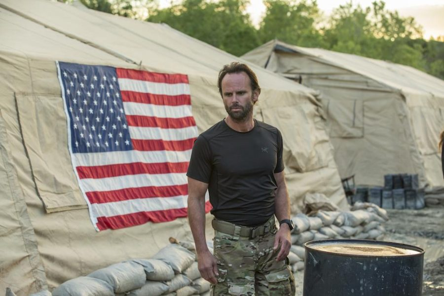 Walter Goggins in History Channel's military show