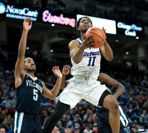 DePaul men's basketball loses fifth straight, falls to Creighton 75-62