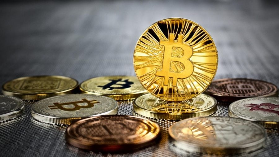 Bitcoin is a form of digital currency. Currently, one Bitcoin is worth $18,855. (Photo courtesy to Tribune News Service)