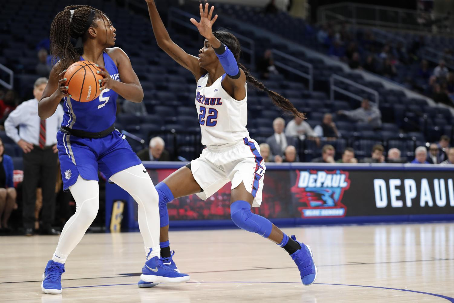 Sophomore forward Chante Stonewall has back-to-back double-doubles (Photo Courtesy of DePaul Athletics)