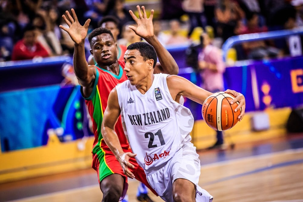 Flynn Cameron.  (Photo Courtesy of FIBA)