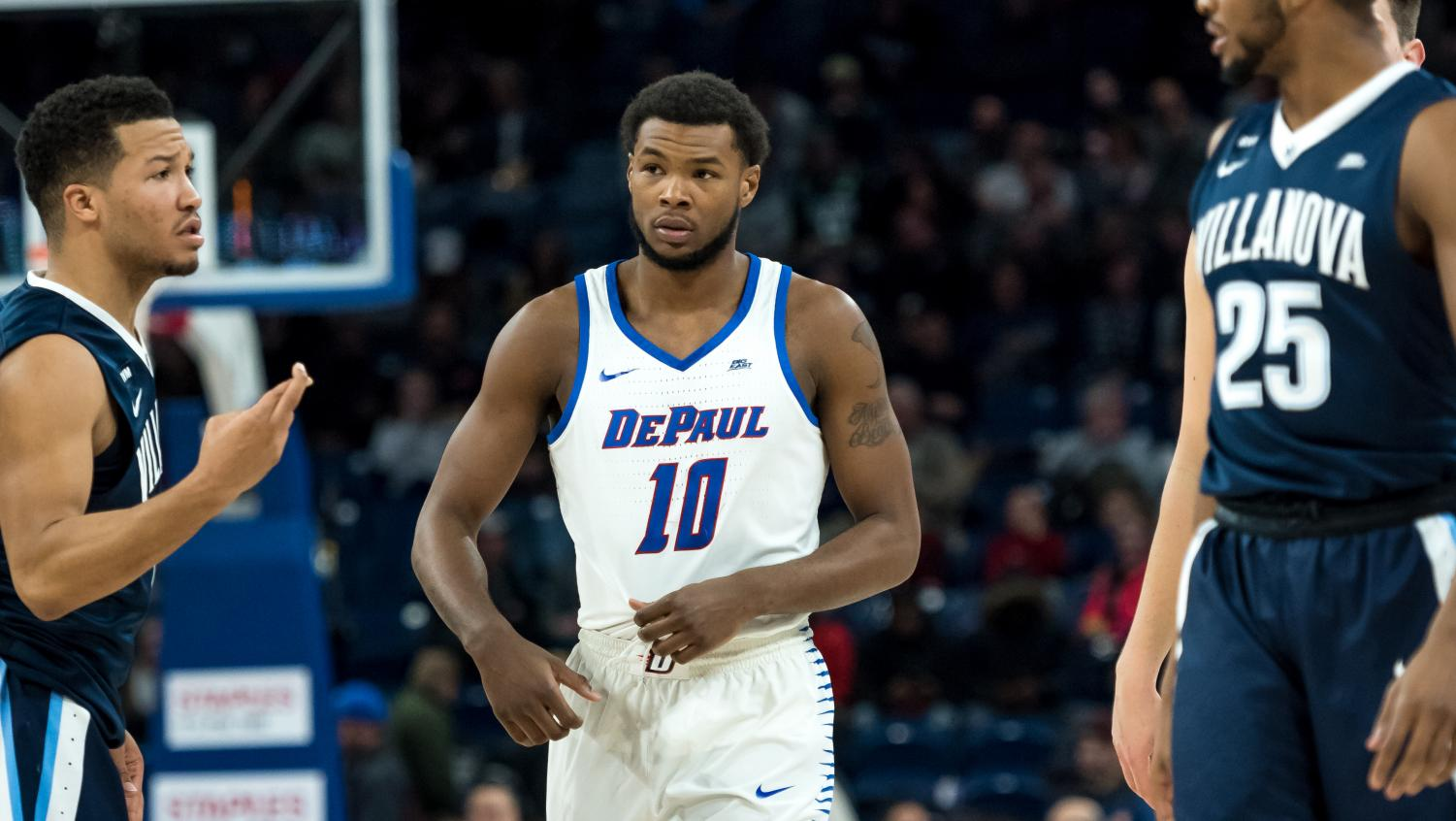 Tre'Darius McCallum received a technical after slamming the ball into the court in an outburst of frustration Monday night at Marquette. (Konrad Markowski)