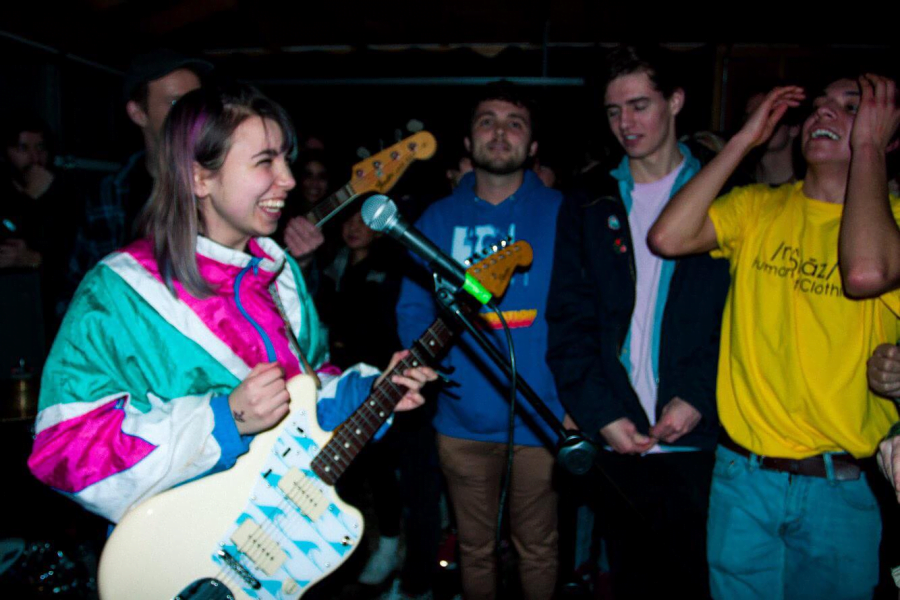 Lili Trifulio went from a solo artist to part of a successful band with Beach Bunny. (Photo by Alicia Maciel)