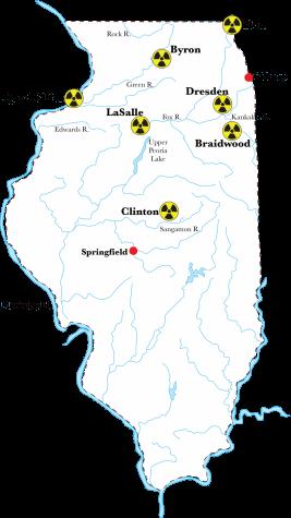 Report: Illinois' aging nuclear reactors have been ignoring regulators
