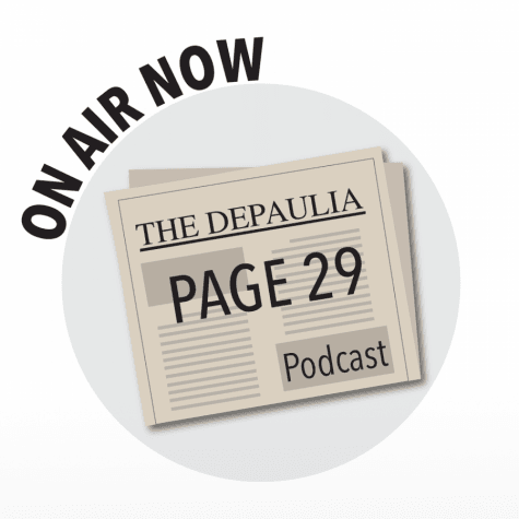 Page 29: The DePaulia staff discusses the Daily Northwestern editorial
