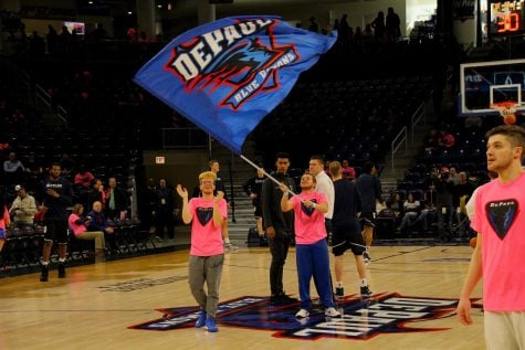DePaul athletics fields concerns of season ticket holders during meetings